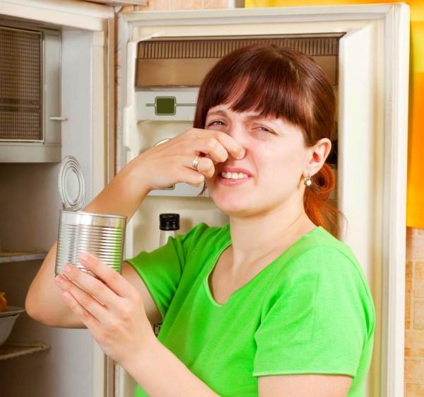 вонь из холодильника