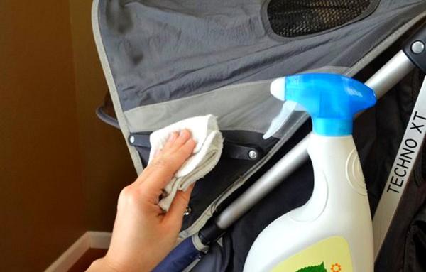 чистка коляски