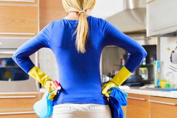 Генеральная уборка для борьбы с запахом