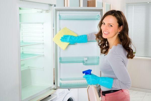 Тщательная мойка холодильника спасает от запахов