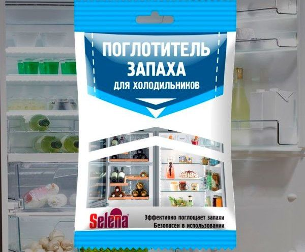 Селена - поглотитель запаха для холодильника