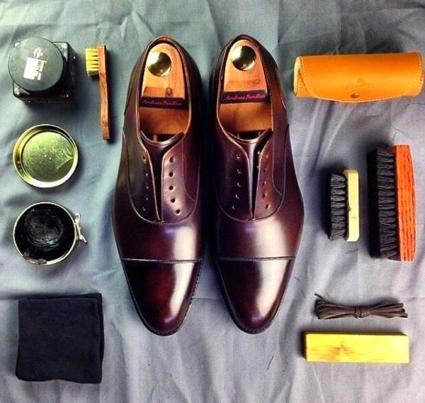 чистые туфли