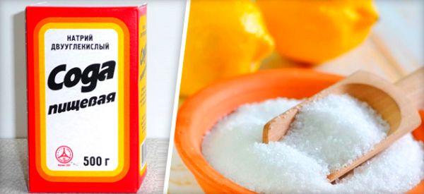 Пищевая сода для борьбы с запахом