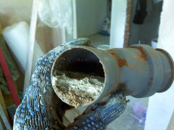 нечистоты в трубах