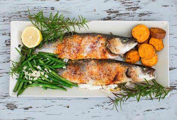 Красивое и вкусное блюдо из рыбы